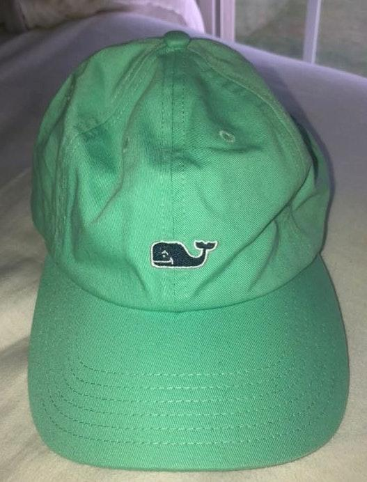 Vineyard Vines green/teal adjustable hat