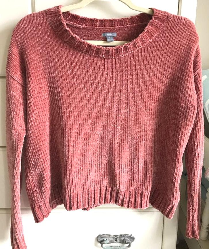 Aerie Rose Chenille Sweater