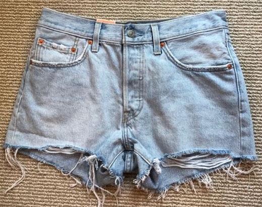 Levi's Light Wash Shorts