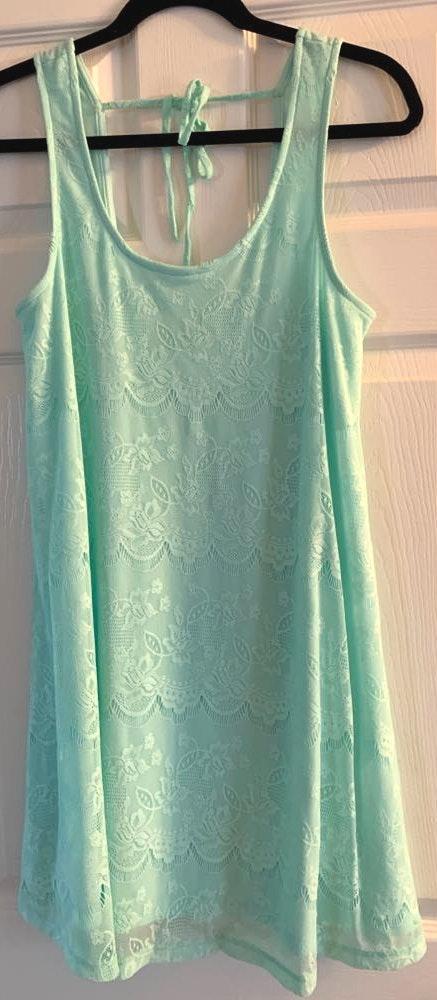 Altar'd State Light Blue Dress