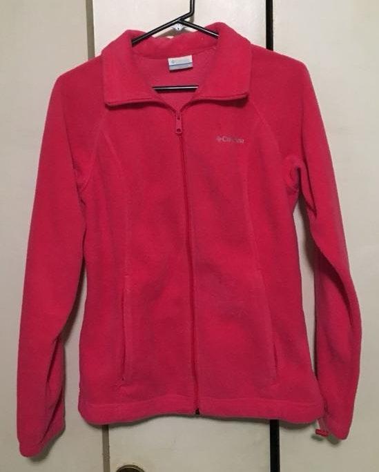 Columbia Sportswear Pink Fleece Jacket