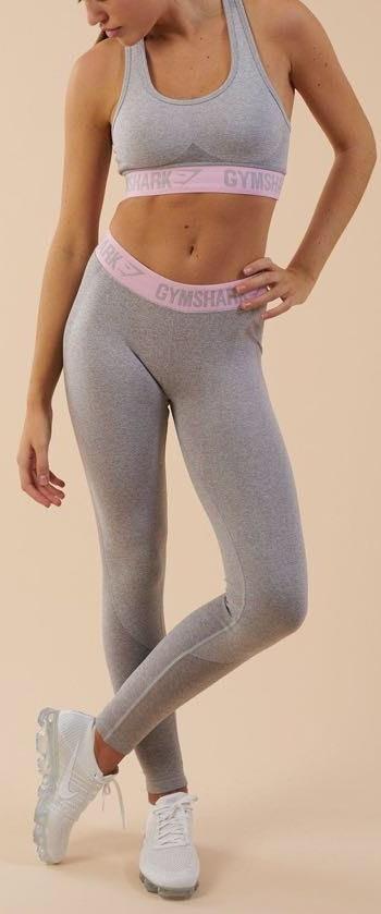 Gymshark Light Grey Leggings