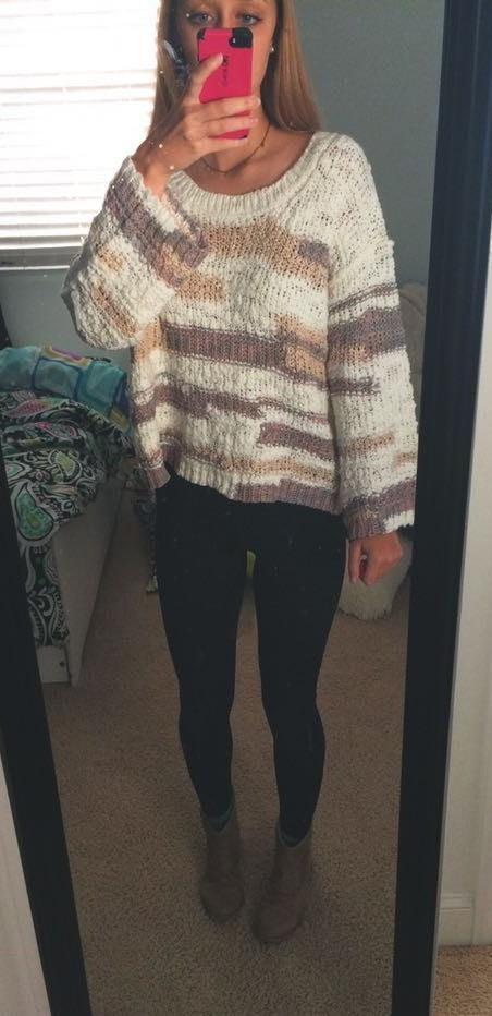 Victoria and Sophia Soft Sweater