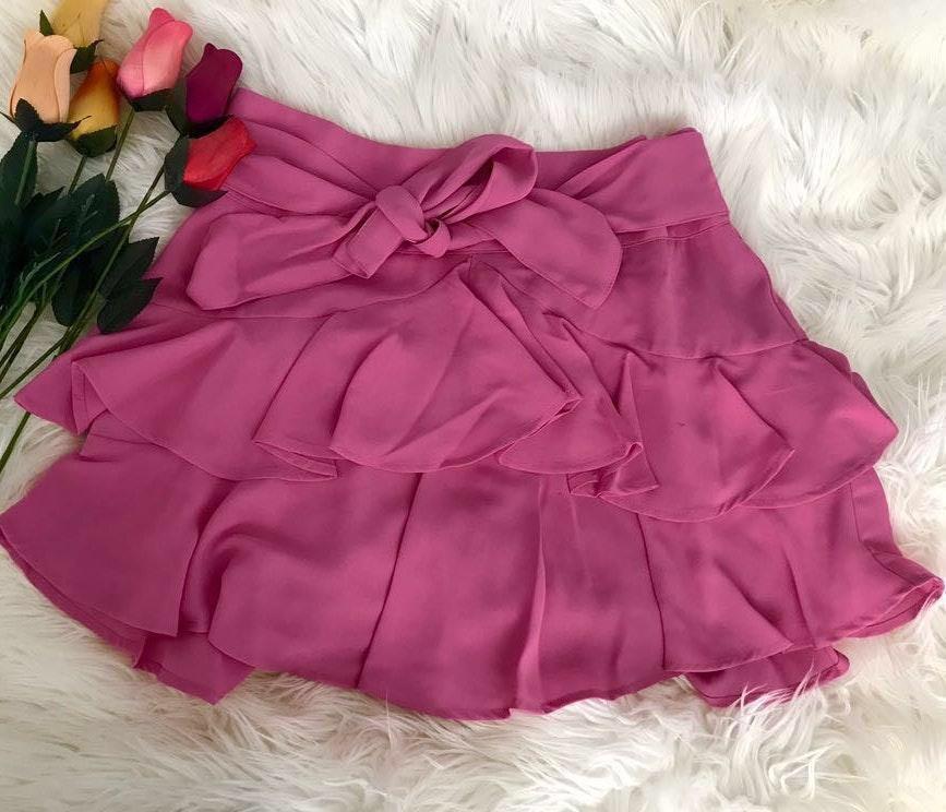 Express Flirty Pink Skirt