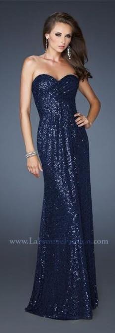 La Femme Sequin Gown