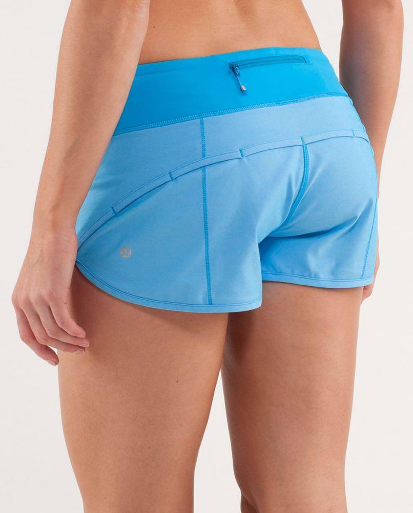 Lululemon Beachu Bunny Blue Speed Shorts
