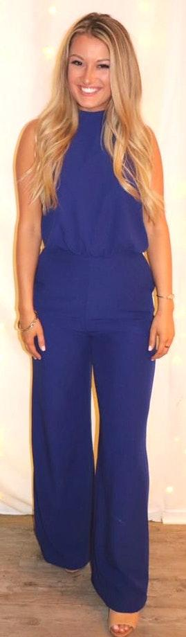 Lulus Blue Jumpsuit