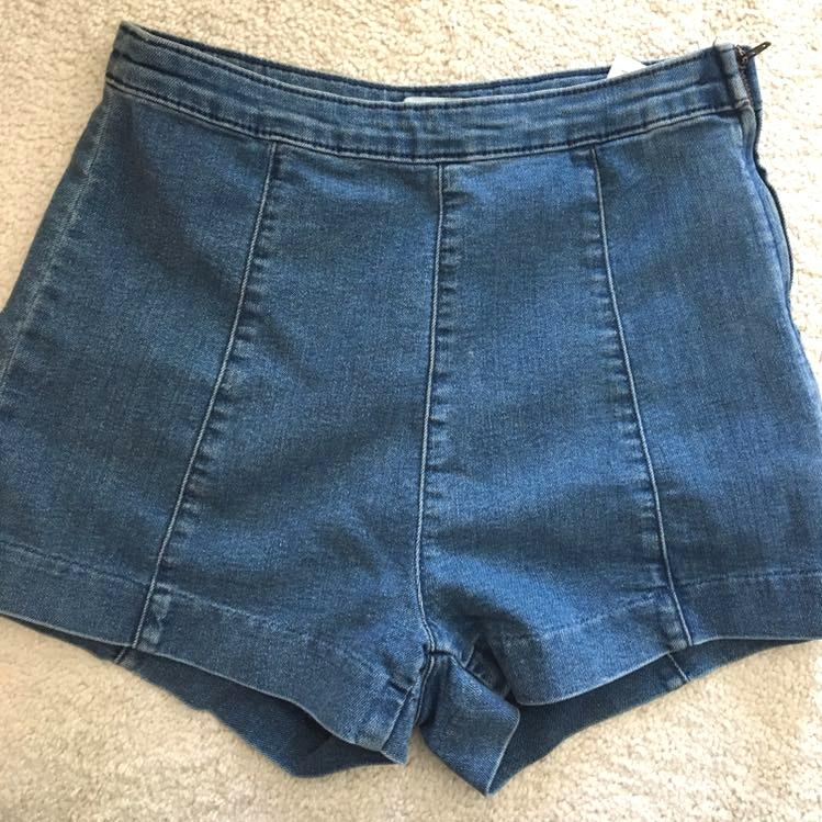 H&M Denim High Rise Shorts