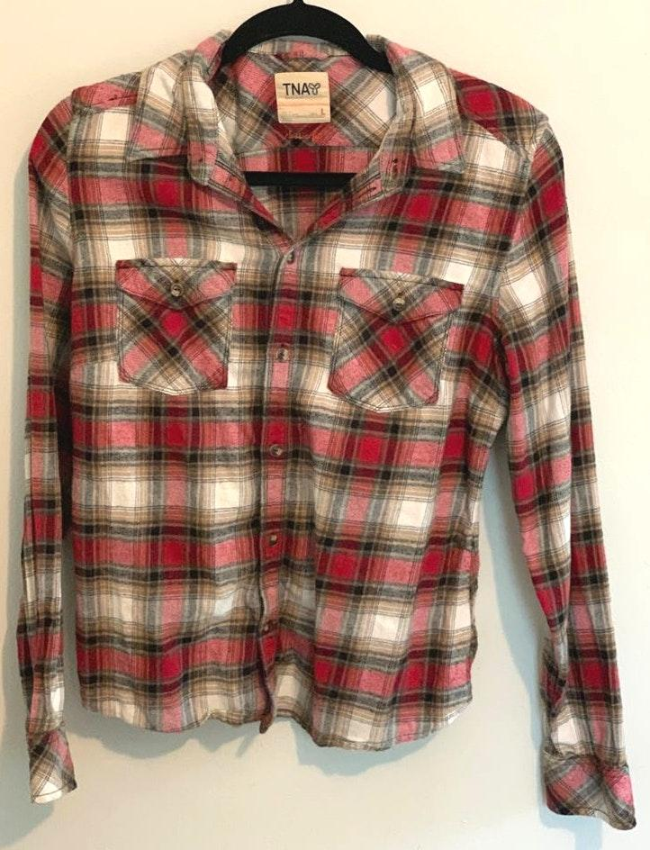 Aritzia Flannel Long Sleeve