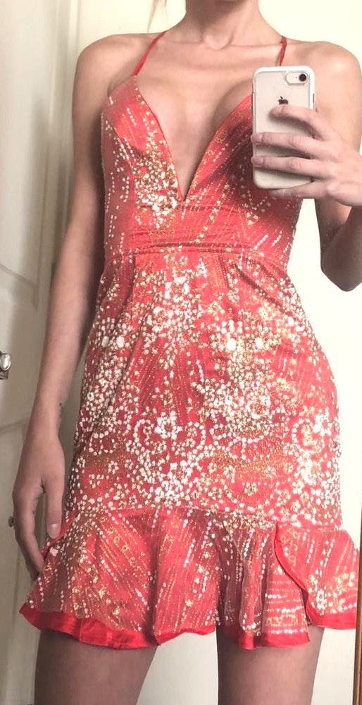 White Fox Boutique White Fox Dress Size XS NWT