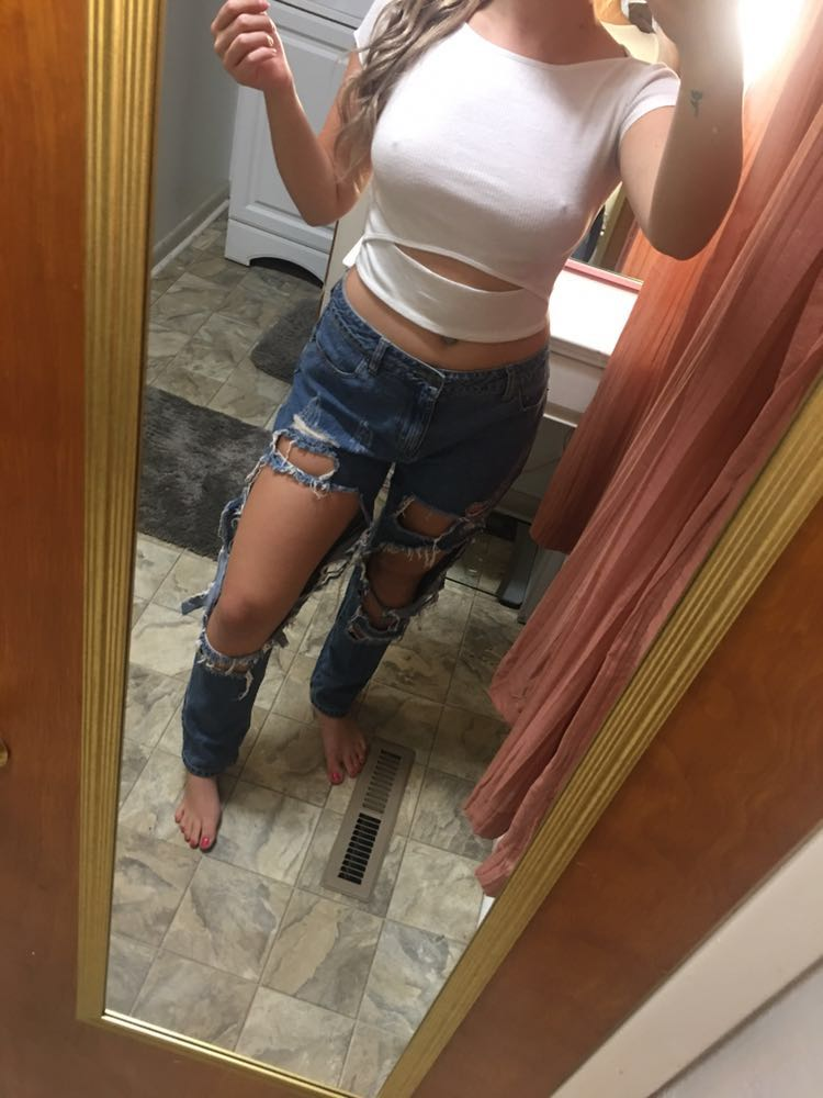 Forever 21 Destroyed Boyfriend Style Jeans