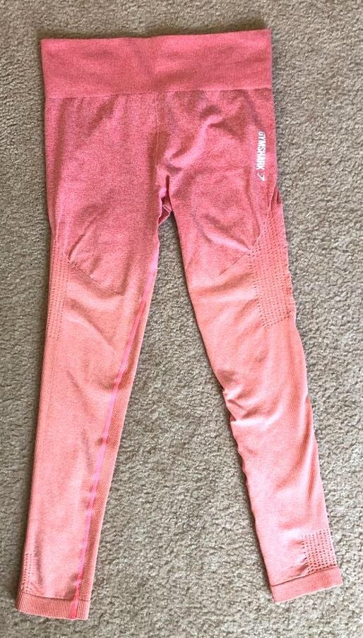 Gymshark Pink/Coral Ombré  Leggings