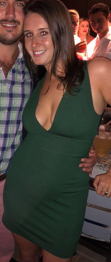 NBD Green Mini Dress