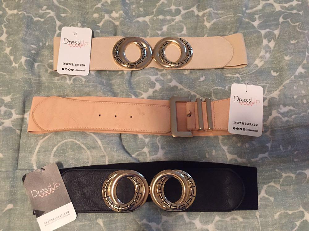 Dress Up Set Of Belts