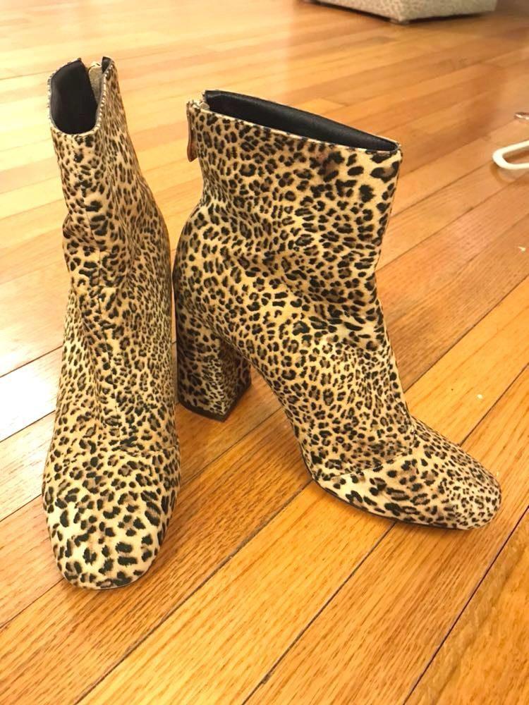 Cheetah Booties