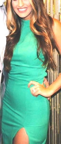 NBD Green  Sugar Pine Bodycon dress