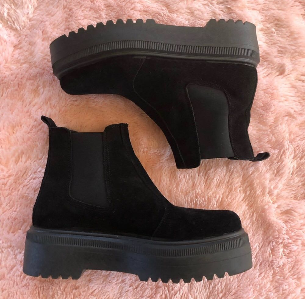 Urban Outfitters Black booties