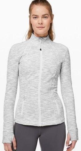 Lululemon Light Grey Define Jacket