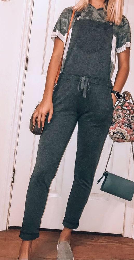 Dark Gray Boutique Sweatshirt Jumper