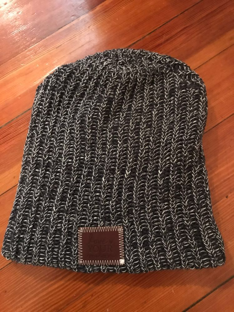 Love your melon Charcoal Beanie
