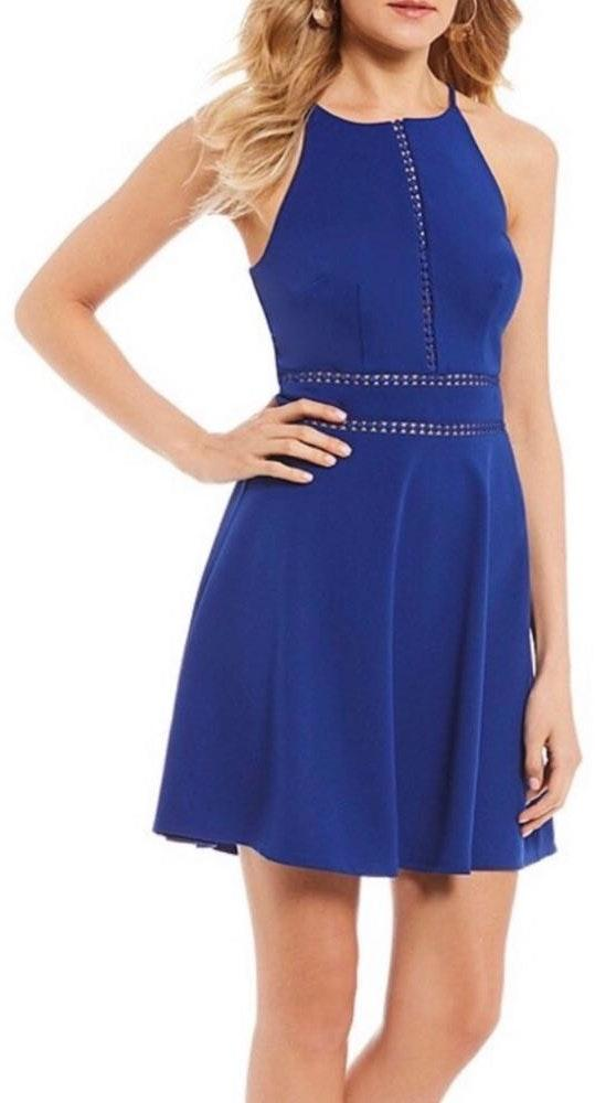 I.N. San Francisco Blue Dress