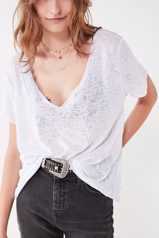 Urban Outfitters Project Social White Tee