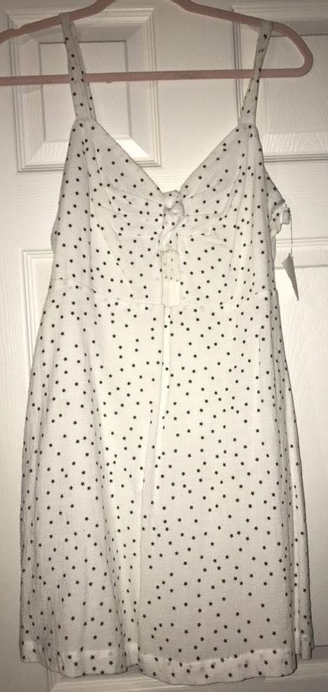 Impeccable Pig White Star Dress