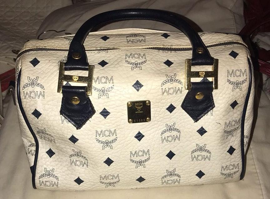 MCM Boston Handbag