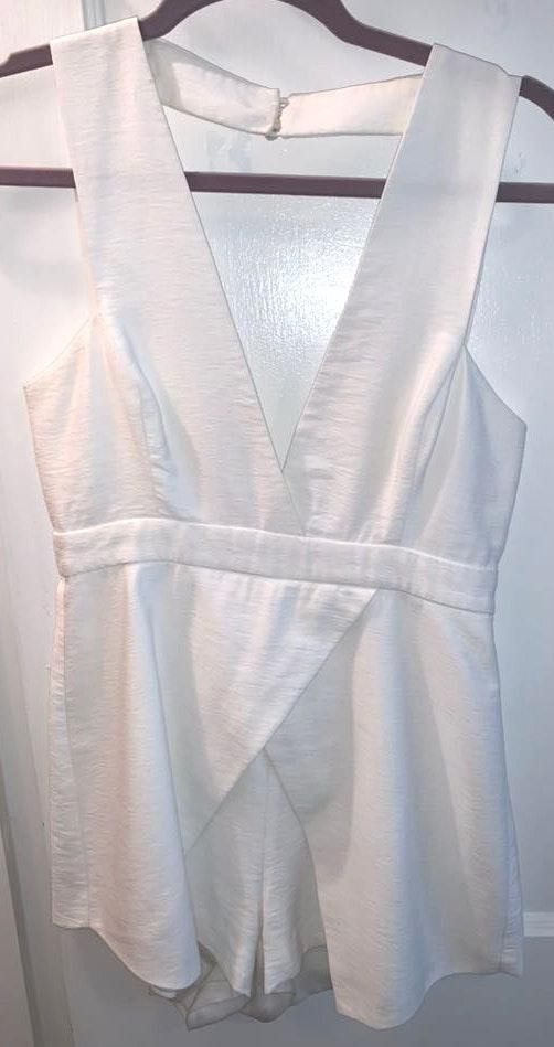 Finders Keepers White Romper