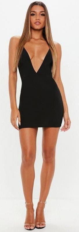 Missguided Black Bodycon