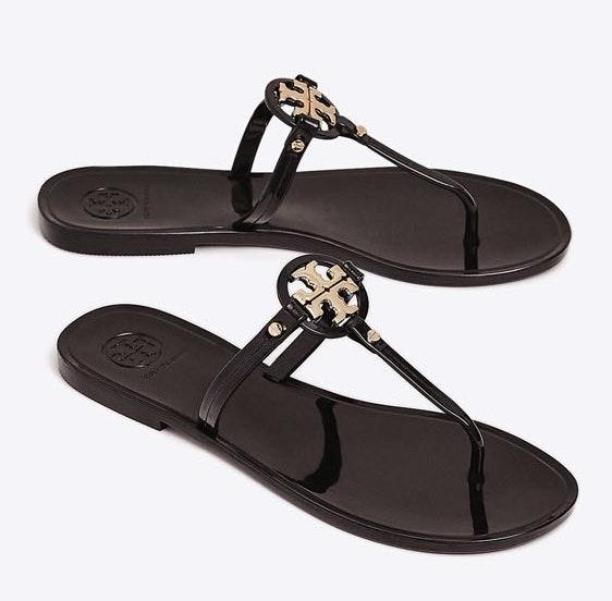 d79c467fec60 We re the buy sell app for cute clothes. Say to being bored of your  clothes. Home Tory Burch Black Sandals