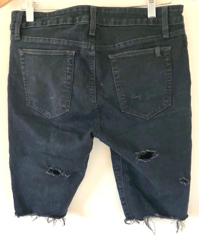 9605827519 We're the buy/sell app for cute clothes. Say to being bored of your  clothes. Home Joe's Jeans Distressed Black Shorts