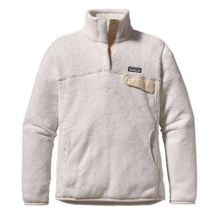 Patagonia White Fuzzy Pullover