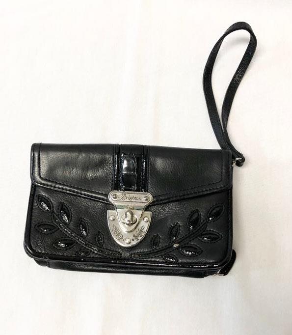 Brighton Black Wallet / Wristlet