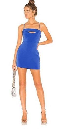 Revolve Blue Dress