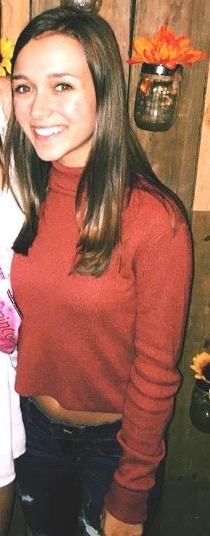 Kendall & Kylie Orange Turtleneck Crop