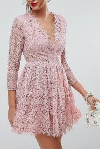 newest collection amazing selection modern and elegant in fashion ASOS Dusty Rose Prom/wedding Dress