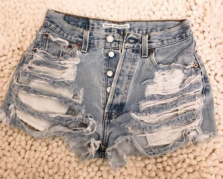 Levi's Bambi and Manson Shorts