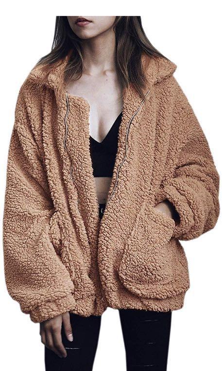 Amazon Brown Teddy Coat