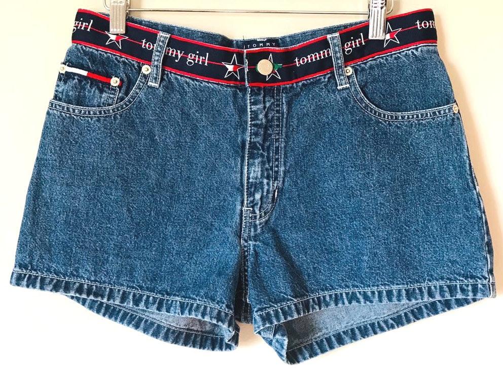Tommy Hilfiger Vintage Tommy Girl Underwear Waistband Hipster Shorts