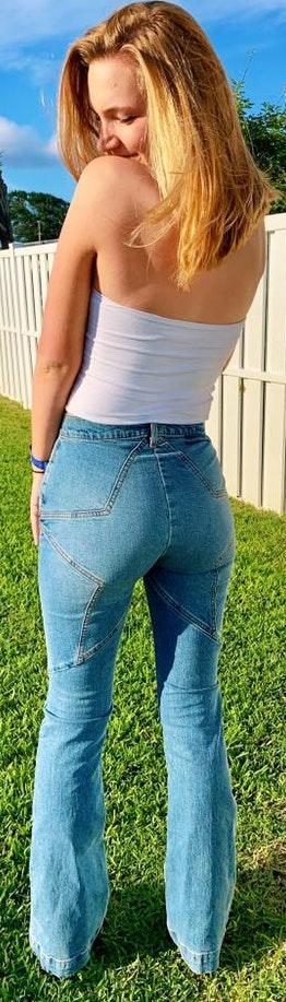 Revice Denim Star Flare Jeans