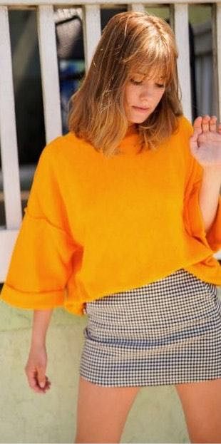 Urban Outfitters Orange Sweater