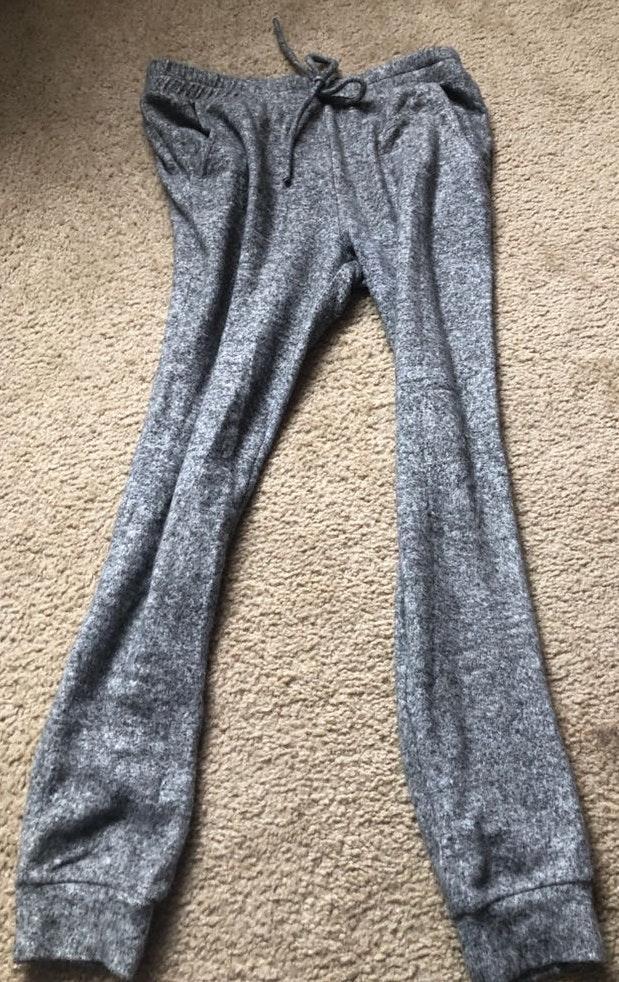Pacsun Grey Fleece Joggers