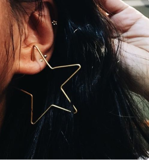 Urban Outfitters STAR EARRING