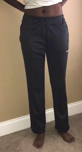 Nike Grey Sweatpants With Pockets