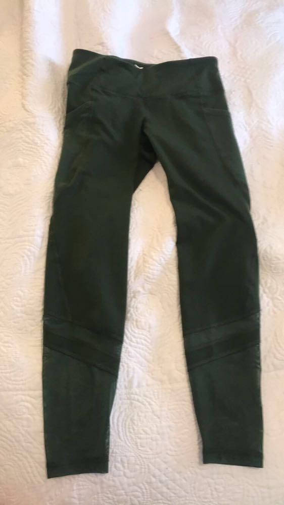 Old Navy Army Green Leggings