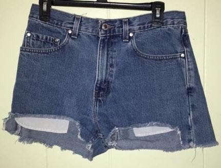 Levi's High Waisted Vintage Denim Shorts