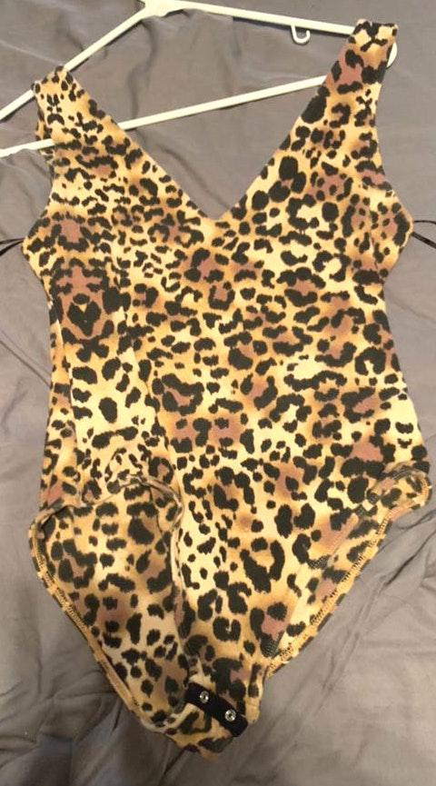 Kendall & Kylie Cheetah Bodysuit