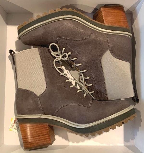 Kelsi dagger Grey Vintage Boots/Booties