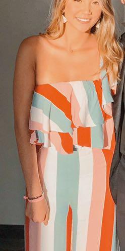 Two Piece Stripe Set